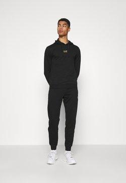 EA7 Emporio Armani - SET - Sweatshirt - black/gold-coloured