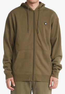 DC Shoes - Sweater met rits - ivy green