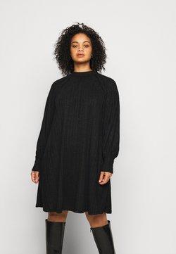 Pieces Curve - PCDALILAH DRESS - Freizeitkleid - black