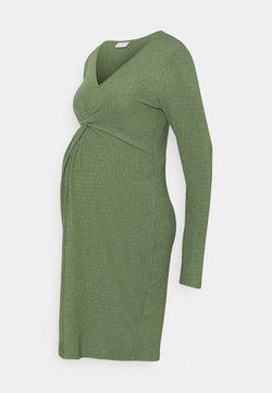 MAMALICIOUS - MLALVIRA  - Vestito di maglina - hedge green