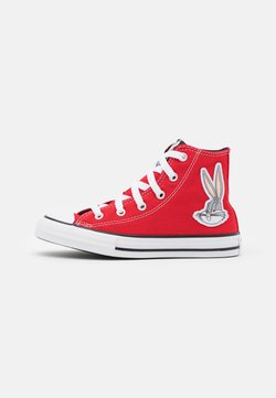 Converse - CHUCK TAYLOR ALL STAR BUGS BUNNY 80TH VARSITY PATCH UNISEX - Sneakers alte - red/white/black