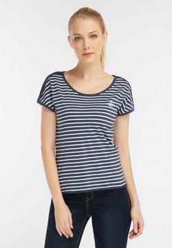 DreiMaster - T-Shirt print - white