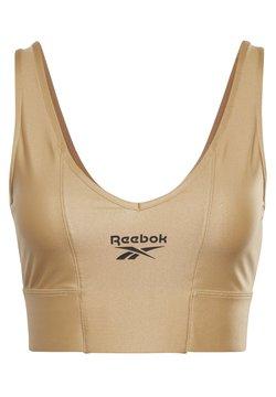 Reebok Classic - HIGH SHINE - Sport BH - gold