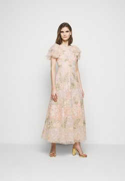 Needle & Thread - ELIN BLOSSOM ANKLE GOWN - Gallakjole - champagne