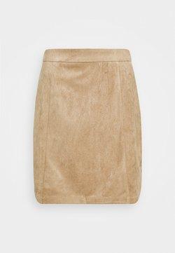 NA-KD - Mini skirt - beige