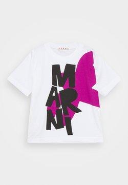 Marni - MAGLIETTA UNISEX - T-Shirt print - white