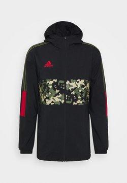 adidas Performance - TIRO WINDBREAKER - Training jacket - black/multcolor