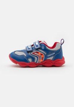 Geox - MUNFREY BOY - Sneaker low - royal/red