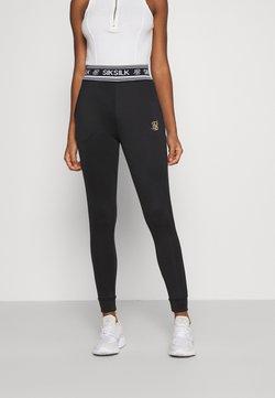 SIKSILK - PRESTIGE TRACK PANT - Jogginghose - black