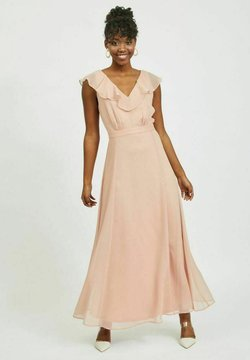 Vila - Vestido largo - misty rose