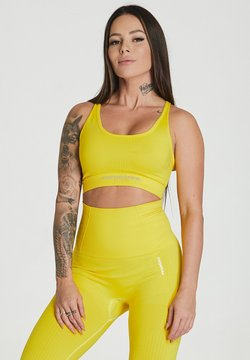 carpatree - ESSENTIAL SEAMLESS - Sport BH - yellow