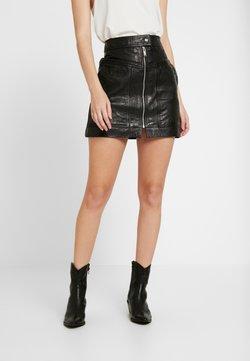 Pepe Jeans - GINA - A-line skirt - black