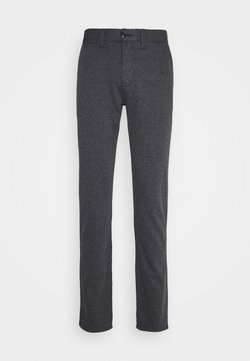 TOM TAILOR - HOUNDSTOOTH PANT - Stoffhose - navy