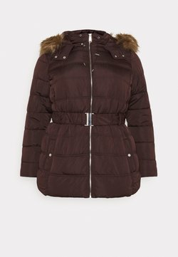 New Look Curves - ELLIE PUFFER - Talvitakki - dark burgundy