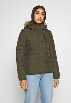 Superdry - CLASSIC FUJI JACKET - Winterjacke - forest green