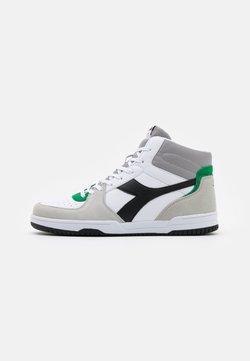 Diadora - RAPTOR UNISEX  - Sneakers hoog - white/gray ash dust
