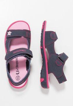 Kappa - BLOSSOM - Sandały trekkingowe - navy/pink