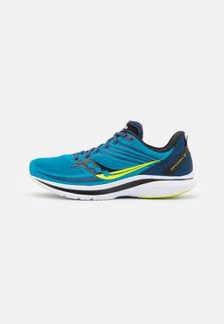 Saucony - KINVARA 12 - Zapatillas de running neutras - blue/citrus