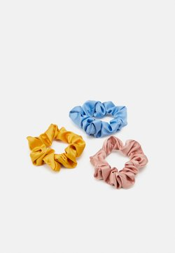Pieces - PCDALIANA SCRUNCHIE 3 PACK - Haar-Styling-Accessoires - blue surf
