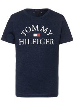 Tommy Hilfiger - ESSENTIAL LOGO - Print T-shirt - blue