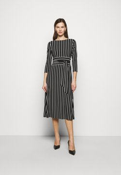 Lauren Ralph Lauren - PRINTED MATTE DRESS - Vestido informal - black