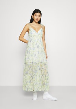 Abercrombie & Fitch - LOVE STRUCK DRESS - Maxi dress - off-white
