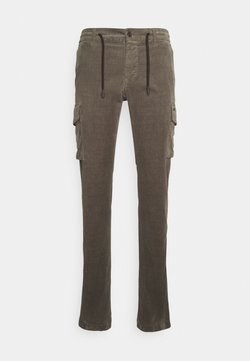 Mason's - CHILEJOGGER - Cargo trousers - olive