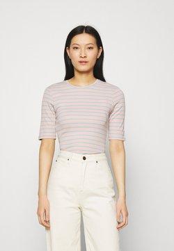 Modström - ITTAKA  - T-Shirt print - peach stripe