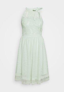 Vila - VIZINNA NEW DRESS - Vestido de cóctel - cameo green