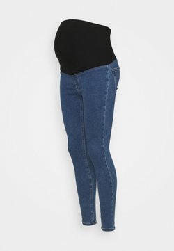 Anna Field MAMA - Jeggings - blue denim