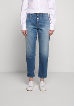 CLOSED - CROPPED - Jeans Straight Leg - mid blue