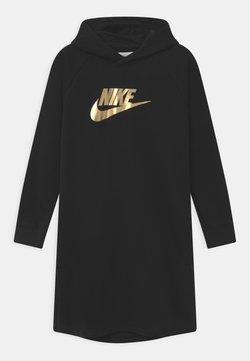 Nike Sportswear - SHINE  - Freizeitkleid - black/gold