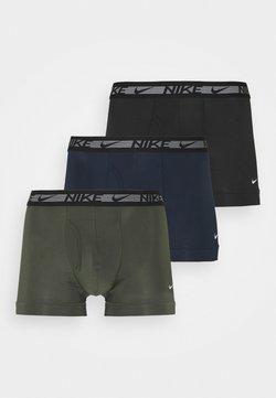 Nike Underwear - TRUNK FLEX 3 PACK - Bokserit - cargo khaki/obsidian/black