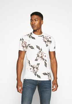 Religion - FLORAL TEE - Print T-shirt - winter white