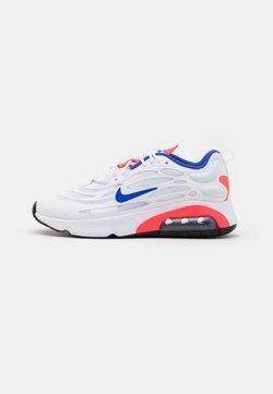 Nike Sportswear - AIR MAX EXOSENSE - Sneaker low - white/racer blue/flash crimson/metallic silver/black