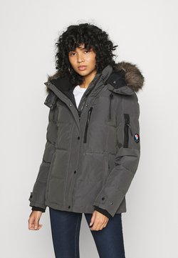 Superdry - PREMIUM RESCUE JACKET - Daunenjacke - charcoal