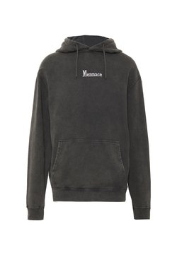 Mennace - WASHED PRIMARY - Kapuzenpullover - black