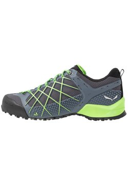 Salewa - MS WILDFIRE - Kletterschuh - flintstone/fluo green