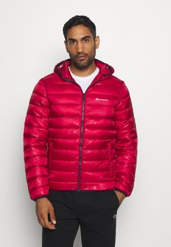 Champion - LEGACY HOODED JACKET - Talvitakki - dark red