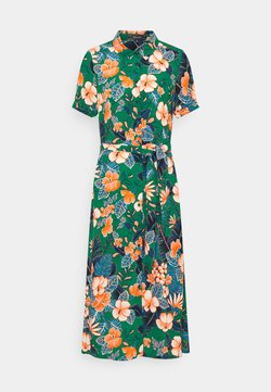 King Louie - DRESS LILO - Shirt dress - fern green