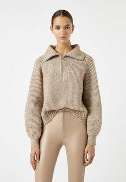 PULL&BEAR - Strickpullover - beige