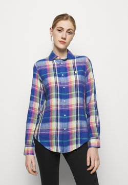 Polo Ralph Lauren - PLAID - Hemdbluse - blue/pink