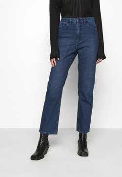 NU-IN - HIGH RISE - Jeans a sigaretta - mid blue wash