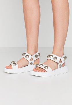 Ash - VLILCAN - Korkeakorkoiset sandaalit - soft brasil white