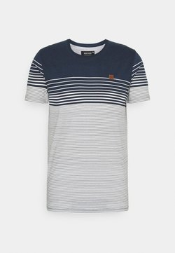 INDICODE JEANS - MANNING - T-Shirt print - navy