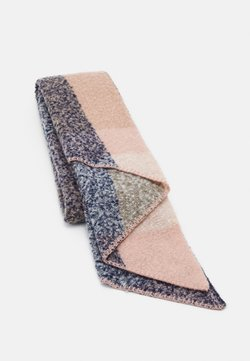 Pieces - PCPYRON CHECKED LONG SCARF - Schal - misty rose