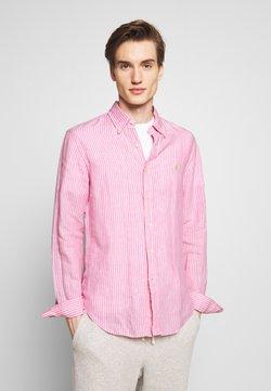 Polo Ralph Lauren - STRIPE SLIM FIT - Shirt - pink/white