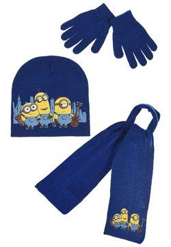 Minions - SET MINIONS - Schal - blau