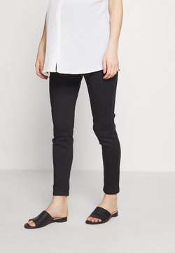 Missguided Maternity - OVER BUMP VICE SUPERSTRETCHY - Skinny-Farkut - black