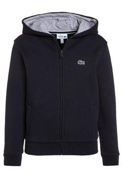 Lacoste Sport - TENNIS - veste en sweat zippée - navy blue/silver chine